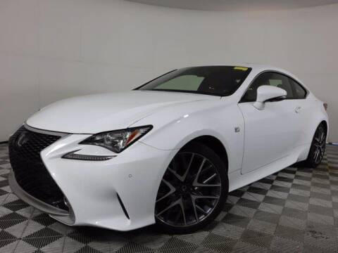 2017 Lexus RC 350 for sale at CU Carfinders in Norcross GA