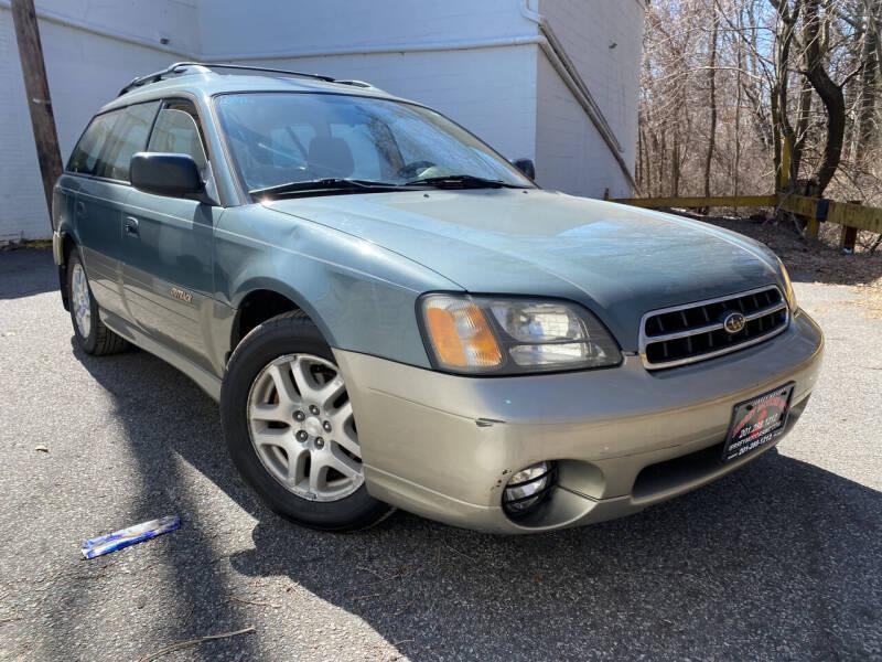 2002 Subaru Outback for sale at JerseyMotorsInc.com in Teterboro NJ