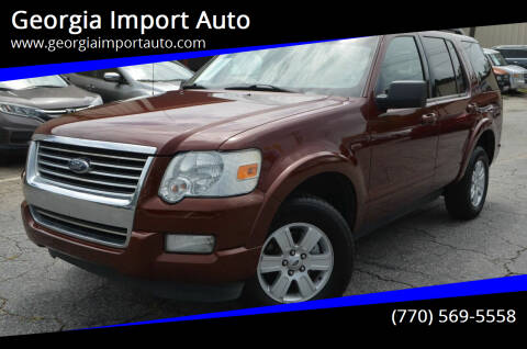 2010 Ford Explorer for sale at Georgia Import Auto in Alpharetta GA