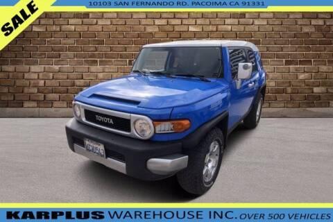2007 Toyota FJ Cruiser for sale at Karplus Warehouse in Pacoima CA