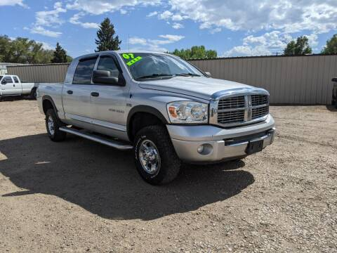 2007 Dodge Ram Pickup 1500 for sale at HORSEPOWER AUTO BROKERS in Fort Collins CO