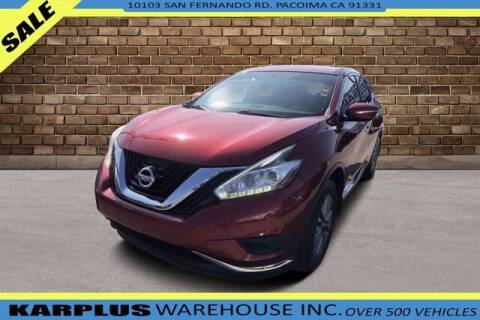 2015 Nissan Murano for sale at Karplus Warehouse in Pacoima CA
