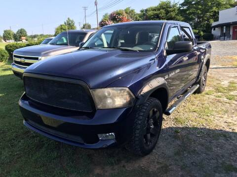 2012 RAM Ram Pickup 1500 for sale at Clayton Auto Sales in Winston-Salem NC