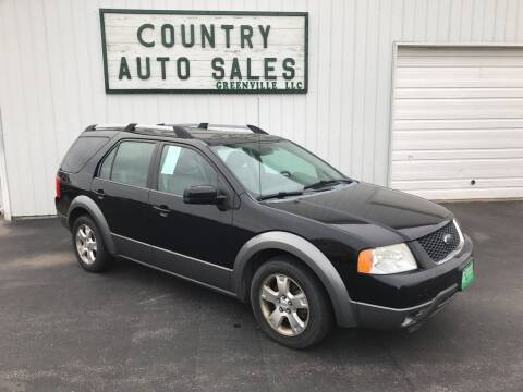 2007 Ford Freestyle for sale at COUNTRY AUTO SALES LLC in Greenville OH
