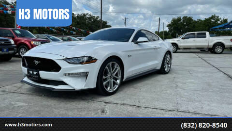 2020 Ford Mustang for sale at H3 MOTORS in Dickinson TX