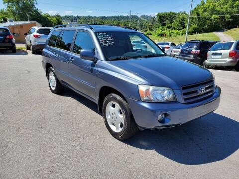 2005 Toyota Highlander for sale at DISCOUNT AUTO SALES in Johnson City TN