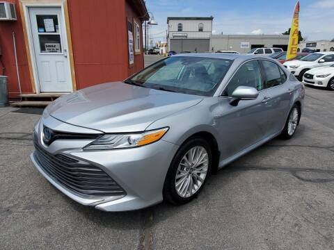 2019 Toyota Camry Hybrid for sale at Curtis Auto Sales LLC in Orem UT