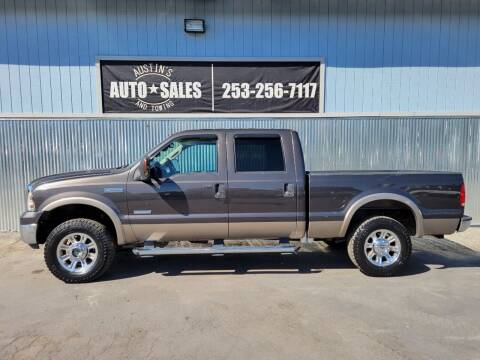 2005 Ford F-250 Super Duty for sale at Austin's Auto Sales in Edgewood WA