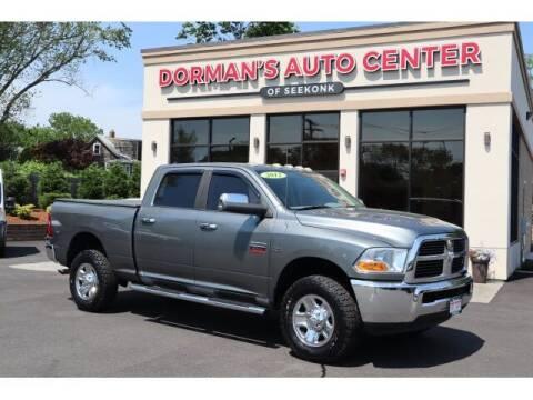 2012 RAM Ram Pickup 2500 for sale at DORMANS AUTO CENTER OF SEEKONK in Seekonk MA