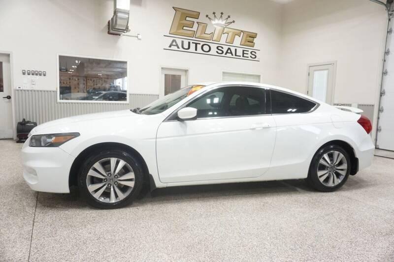 2012 Honda Accord for sale at Elite Auto Sales in Ammon ID