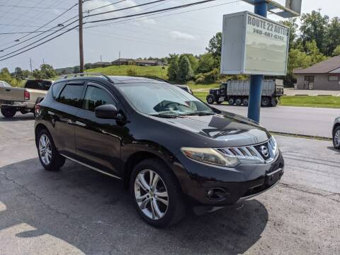 2009 Nissan Murano for sale at Route 22 Autos in Zanesville OH