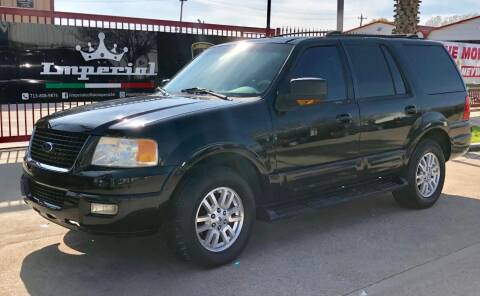 2003 Ford Expedition for sale at Texas Auto Corporation in Houston TX