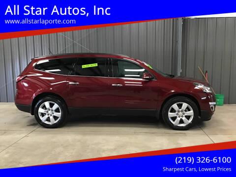 2017 Chevrolet Traverse for sale at All Star Autos, Inc in La Porte IN