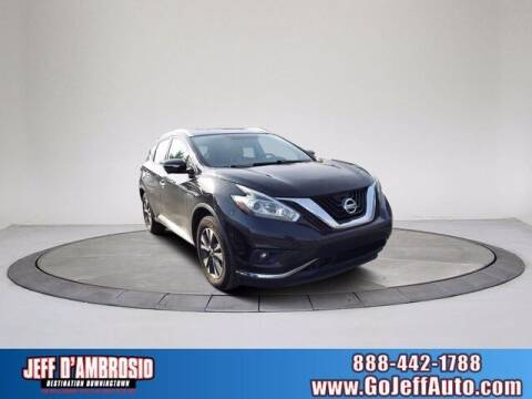 2015 Nissan Murano for sale at Jeff D'Ambrosio Auto Group in Downingtown PA