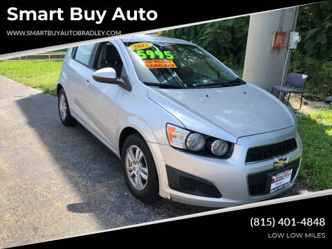 2012 Chevrolet Sonic for sale at Smart Buy Auto in Bradley IL