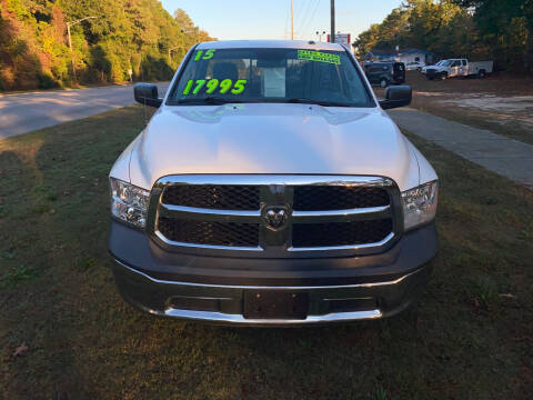 2015 RAM Ram Pickup 1500 for sale at TOP OF THE LINE AUTO SALES in Fayetteville NC