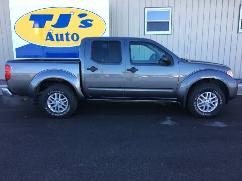 2017 Nissan Frontier for sale at TJ's Auto in Wisconsin Rapids WI