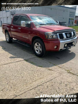 2005 Nissan Titan for sale at Affordable Auto Sales of PJ, LLC in Port Jervis NY