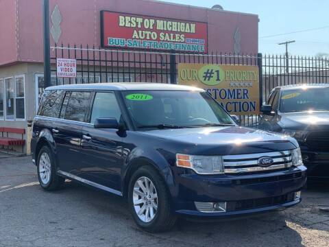 2011 Ford Flex for sale at Best of Michigan Auto Sales in Detroit MI