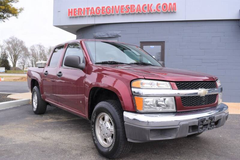 2007 Chevrolet Colorado for sale at Heritage Automotive Sales in Columbus in Columbus IN