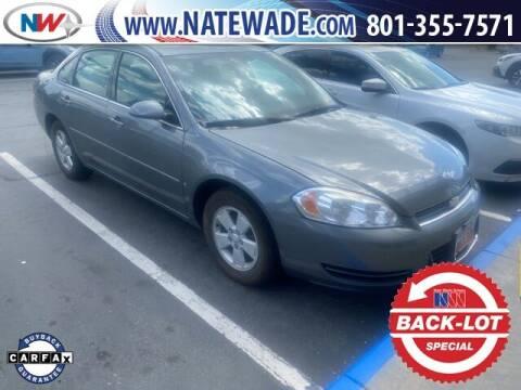 2008 Chevrolet Impala for sale at NATE WADE SUBARU in Salt Lake City UT
