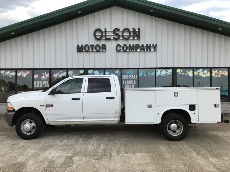 2011 RAM Ram Chassis 3500 for sale at Olson Motor Company in Morris MN