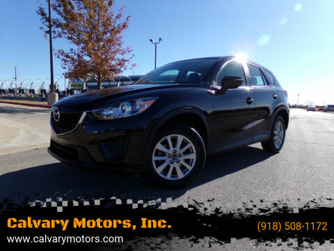 2015 Mazda CX-5 for sale at Calvary Motors, Inc. in Bixby OK