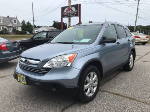 2008 Honda CR-V for sale at JK & Sons Auto Sales in Westport MA