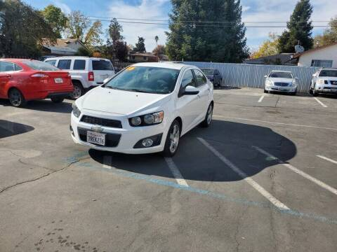 2016 Chevrolet Sonic for sale at Success Auto Sales & Service in Citrus Heights CA