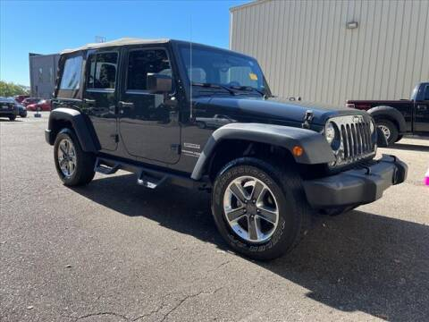 2018 Jeep Wrangler JK Unlimited for sale at Gillie Hyde Auto Group in Glasgow KY