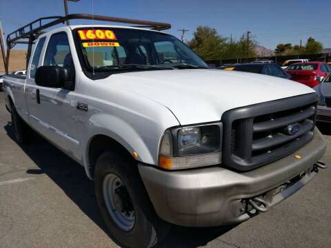 2004 Ford F-250 Super Duty for sale at Car Spot in Las Vegas NV