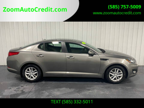 2013 Kia Optima for sale at ZoomAutoCredit.com in Elba NY