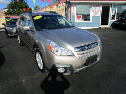 2014 Subaru Outback for sale at Daniel Auto Sales in Yonkers NY