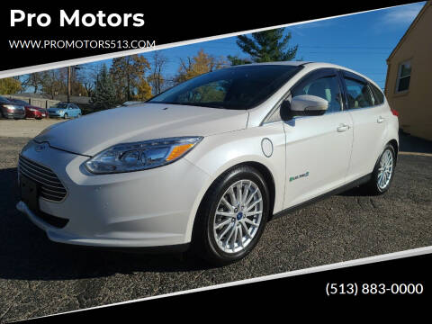 2013 Ford Focus for sale at Pro Motors in Fairfield OH