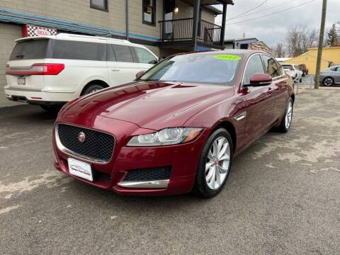 2017 Jaguar XF for sale at Sisson Pre-Owned in Uniontown PA