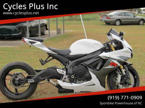 2019 Suzuki GSXR 750 for sale at Cycles Plus Inc in Garner NC