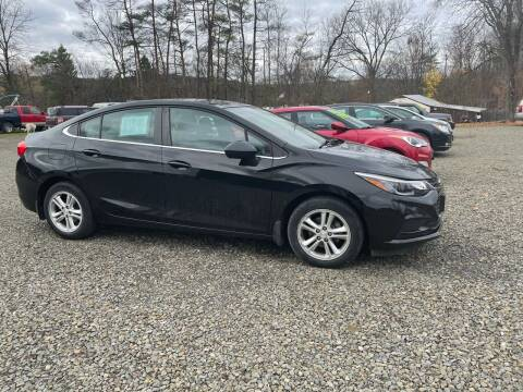2017 Chevrolet Cruze for sale at Brush & Palette Auto in Candor NY
