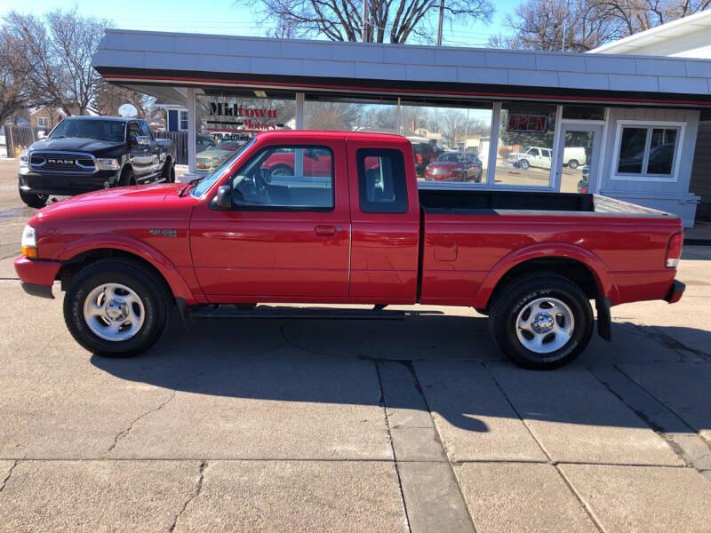 2000 Ford Ranger for sale at Midtown Motors in North Platte NE