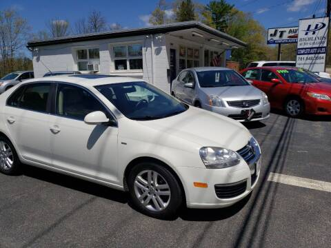 2007 Volkswagen Jetta for sale at Highlands Auto Gallery in Braintree MA