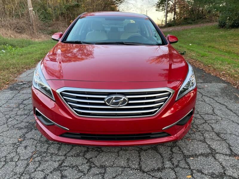 2017 Hyundai Sonata for sale at Speed Auto Mall in Greensboro NC