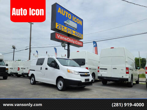 2015 Chevrolet City Express Cargo for sale at Auto Icon in Houston TX