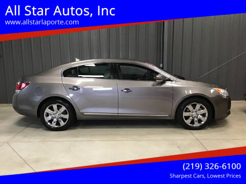 2010 Buick LaCrosse for sale at All Star Autos, Inc in La Porte IN