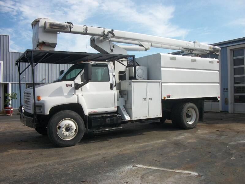 2006 GMC C7500 Chip Truck for sale at Classics Truck and Equipment Sales in Cadiz KY