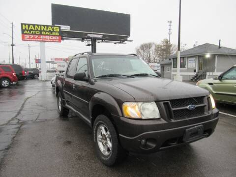 2005 Ford Explorer Sport Trac for sale at Hanna's Auto Sales in Indianapolis IN