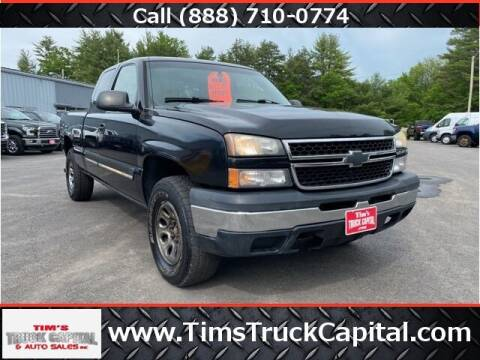 2006 Chevrolet Silverado 1500 for sale at TTC AUTO OUTLET/TIM'S TRUCK CAPITAL & AUTO SALES INC ANNEX in Epsom NH
