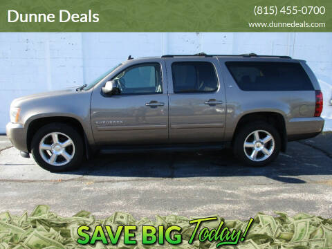 2012 Chevrolet Suburban for sale at Dunne Deals in Crystal Lake IL