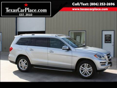 2013 Mercedes-Benz GL-Class for sale at TEXAS CAR PLACE in Lubbock TX