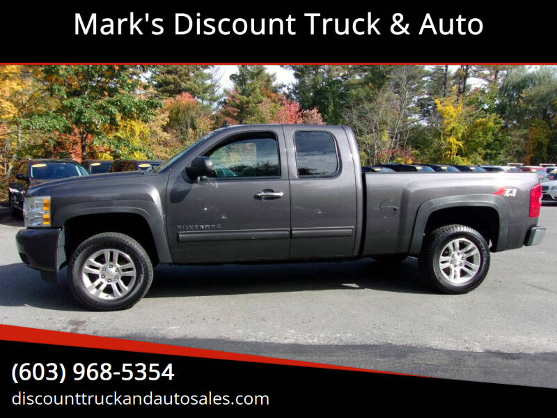 2011 Chevrolet Silverado 1500 for sale at Mark's Discount Truck & Auto in Londonderry NH