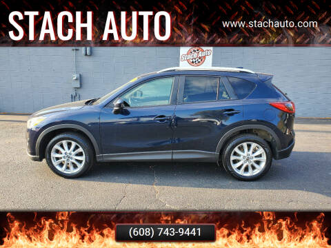 2015 Mazda CX-5 for sale at Stach Auto in Janesville WI