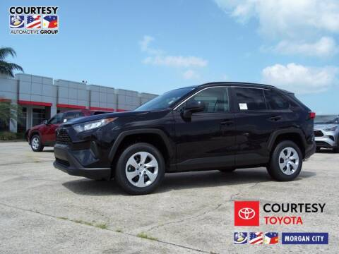 2020 Toyota RAV4 for sale at Courtesy Toyota & Ford in Morgan City LA